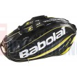 Bao vơt Tennis Babolat 2 ngăn Racket Holder X9 Pure Aero (vàng) - 751101
