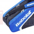 Bao vơt Tennis Babolat 2 ngăn Racket Holder X6 Club Line (xanh) - 751071