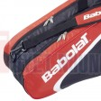 Bao vơt Tennis Babolat 3 ngăn Racket Holder X12 Club Line (đỏ) - 751072