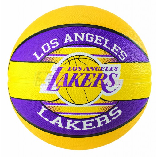 Bóng rổ Spalding NBA Team - Lakers Outdoor size7 (New)