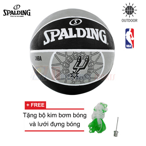 Bóng rổ Spalding NBA TEAM SPURS OUTDOOR SIZE 7