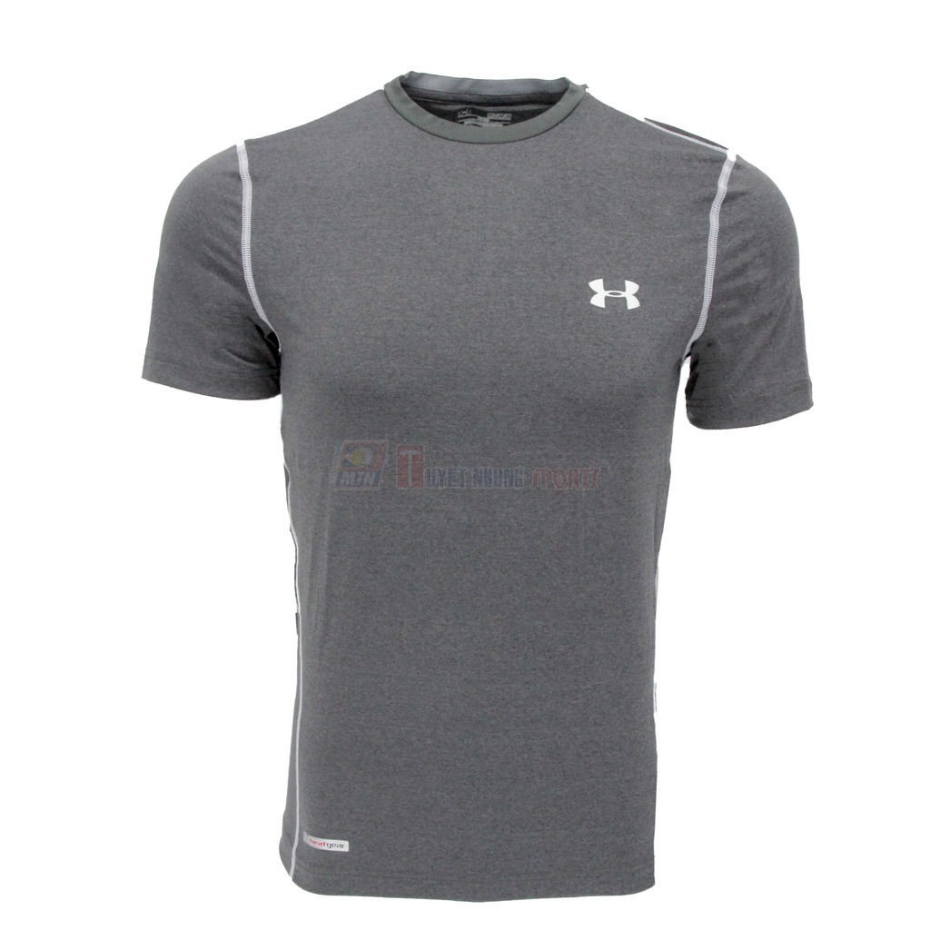 O ph ng c c tay th thao nam d ng m under armour for Under armour men s heatgear sonic fitted t shirt