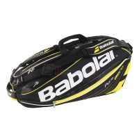 Bao vơt Tennis Babolat 2 ngăn Racket Holder X6 Pure Aero (vàng) - 751102