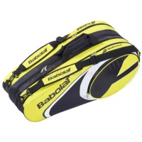 Bao vơt Tennis Babolat 3 ngăn Racket Holder X12 Club Line (vàng) - 751072