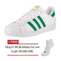Giày thể thao thời trang nam Adidas Superstar Foundation BY3715