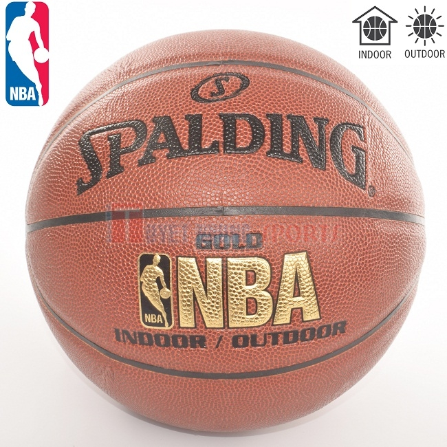 Bóng rổ Spalding Gold 10 Panel TF33 Indoor/Outdoor Size 7
